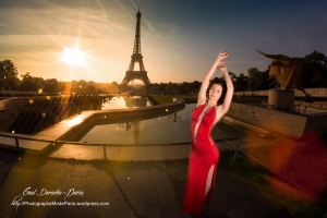 Photographer in Paris, fashion photo session